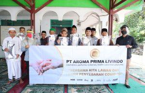 Face Shield Gratis dari PT Aroma Prima Livindo dalam Rangka Memerangi Penyebaran Virus Covid-19