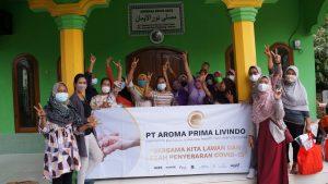Kampung Peteuy di Desa Tobat, Balaraja, Kedatangan Paket Sembako dan Paket Pencegahan Covid-19